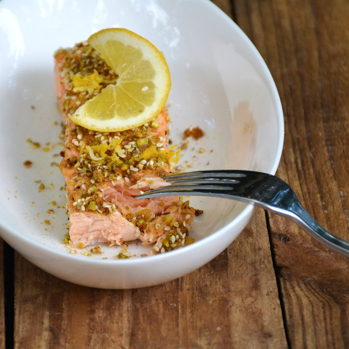 Dukkah Dusted Salmon