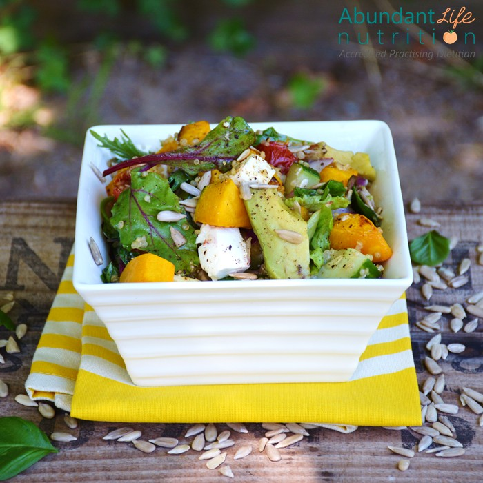 Delicious Roasted Pumpkin Salad